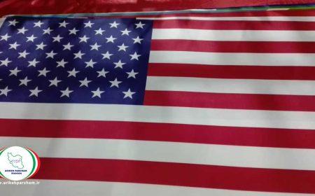چاپ پرچم آمریکا
